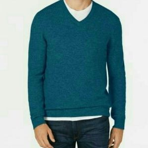 Club Room Men  V-neck Cashmere  Sweater